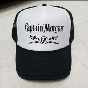 Other - NWOT Mesh Trucker hat Captain Morgan baseball cap